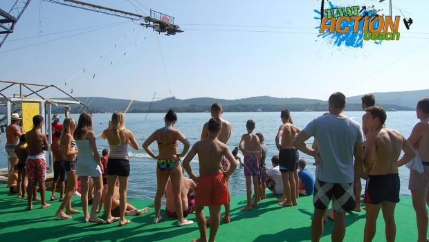 Žičara za skijanje na vodi