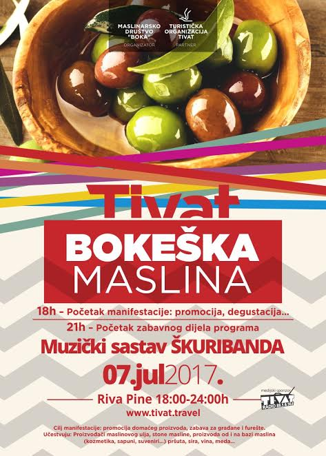 Plakat Bokeška maslina