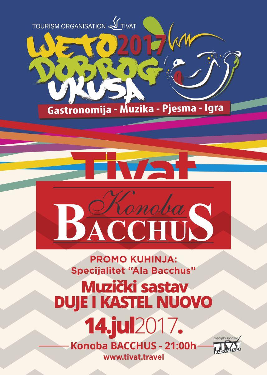 Plakat Bacchus