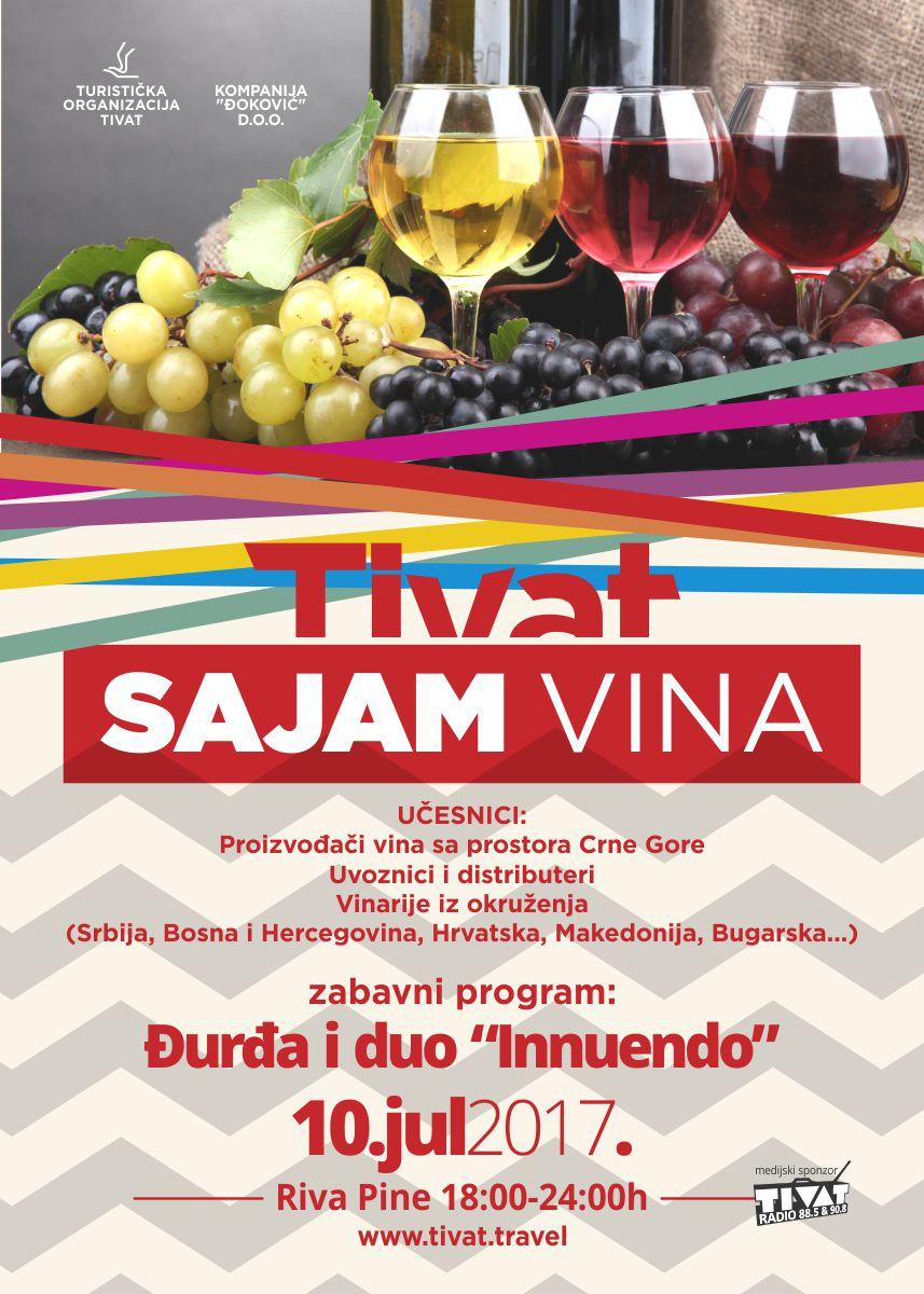 Plakat Sajam vina