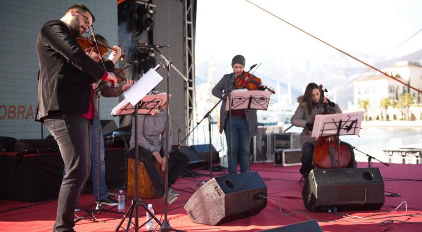 Koncert The Gents, 30.12.2018 – Tivat – foto i video