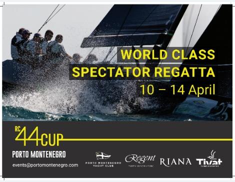 RC 44 CUP World class regatta 10-14. april