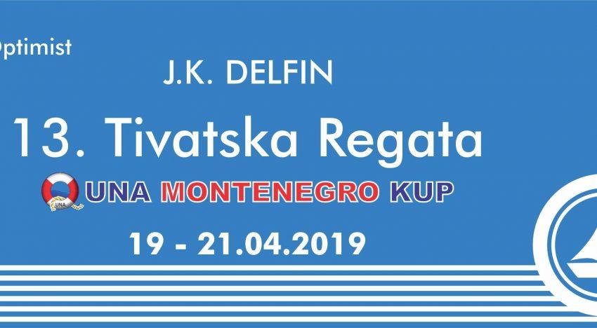 13. Tivatska regata 19. – 21.04.2019
